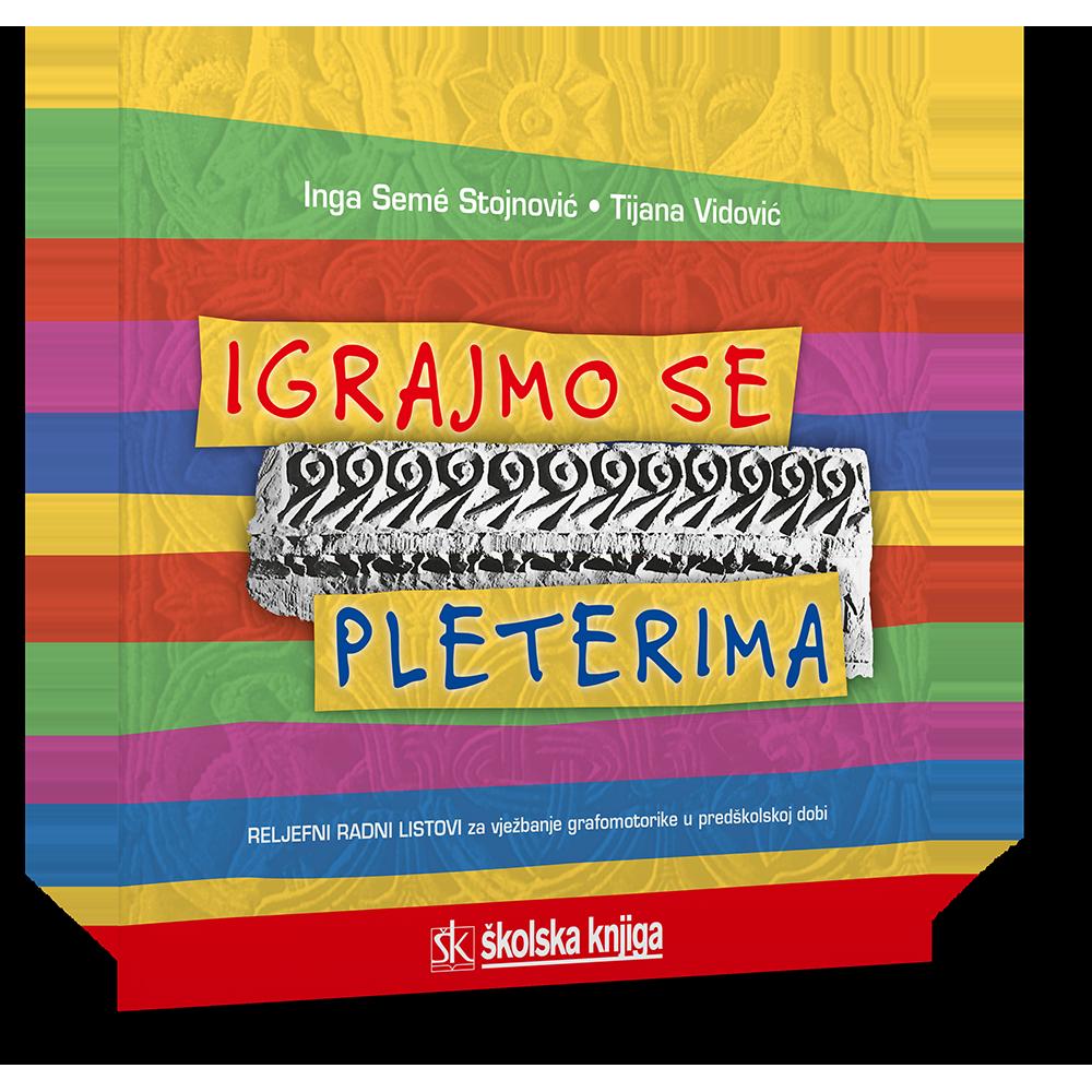 Igrajmo se pleterima - Reljefni radni listovi za vježbanje grafomotorike u predškolskoj dobi