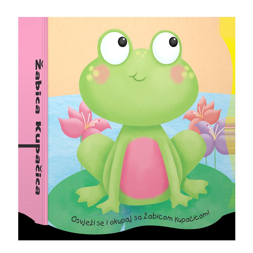 Žabica Kupačica - knjižica za kupanje za bebe