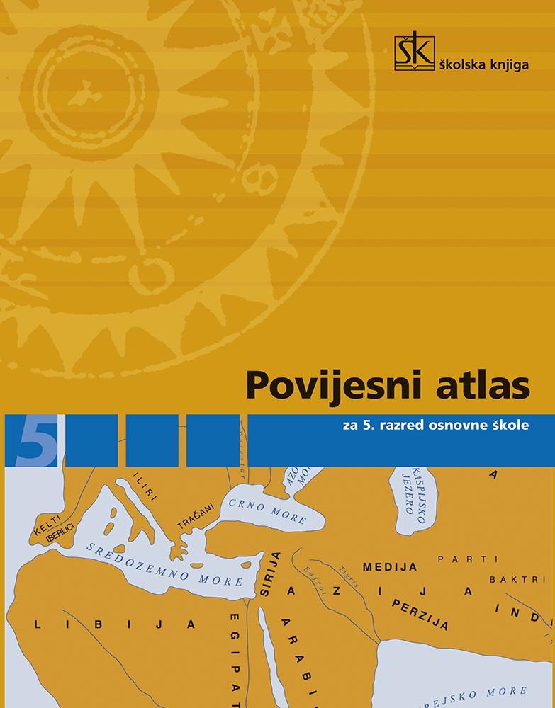 Povijesni atlas za 5. razred osnovne škole