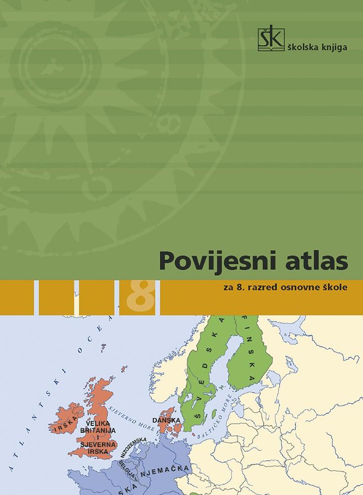 Povijesni atlas za 8. razred osnovne škole