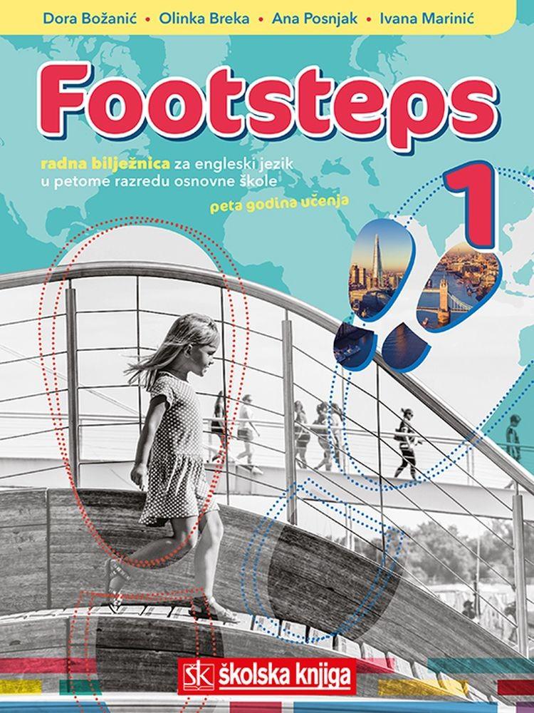 FOOTSTEPS 1 - radna bilježnica za engleski vjezik u 5. razredu osnovne škole, V. godina učenja
