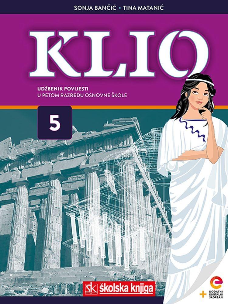 KLIO 5  - udžbenik povijesti u 5. razredu osnovne škole