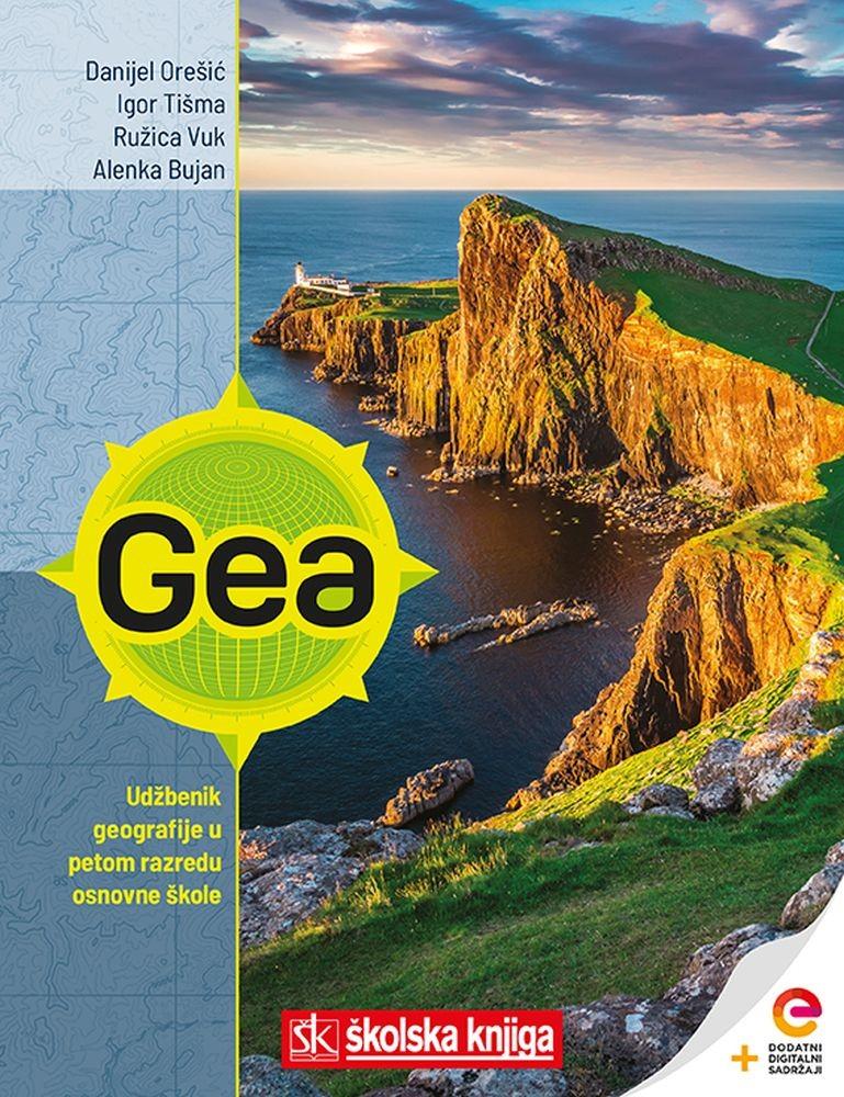 GEA 1 - udžbenik geografije s dodatnim digitalnim sadržajima u 5. razredu osnovne škole