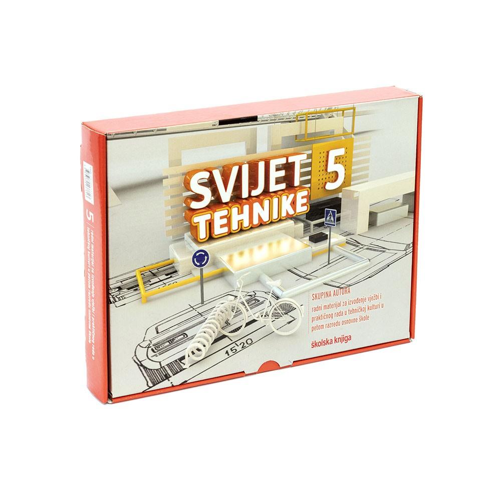 SVIJET TEHNIKE 5 - radni materijali za izvođenje vježbi i praktičnog rada programa tehničke kulture u 5. razredu osnovne škole