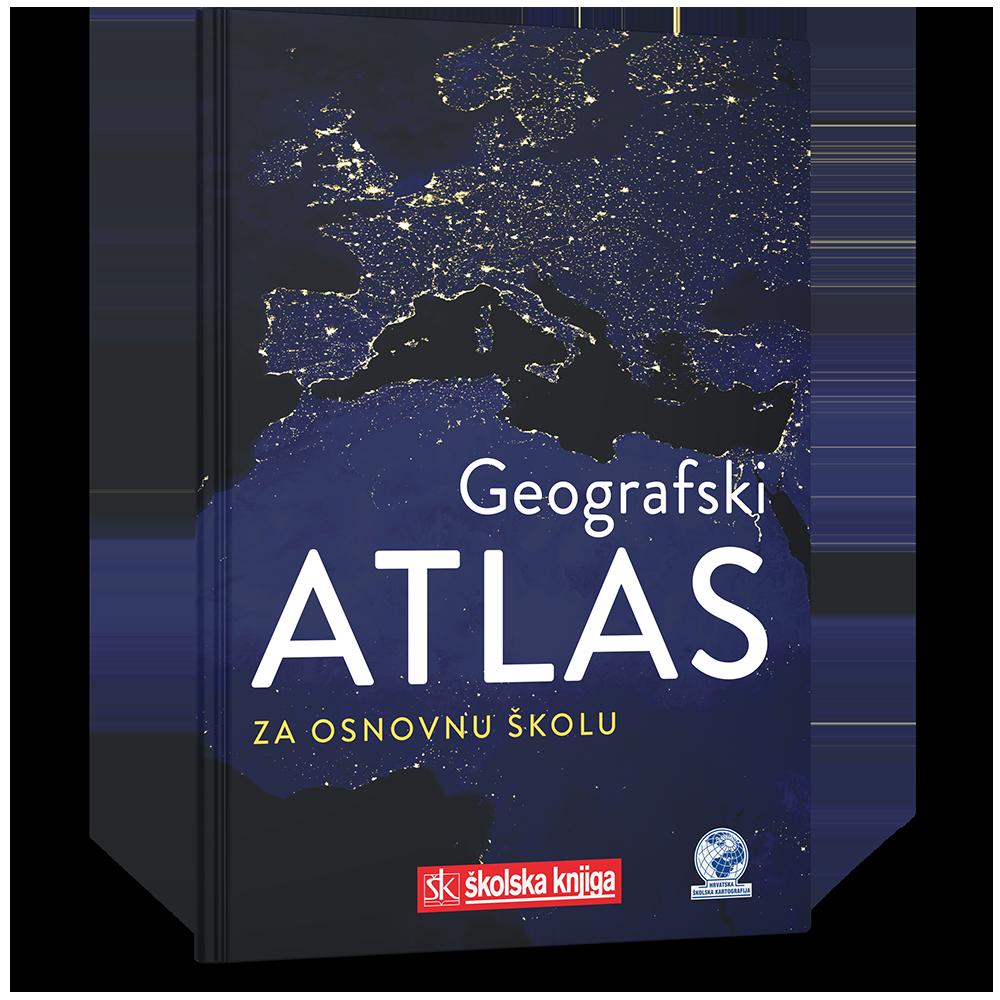 Geografski atlas za osnovnu školu - NOVO 2019