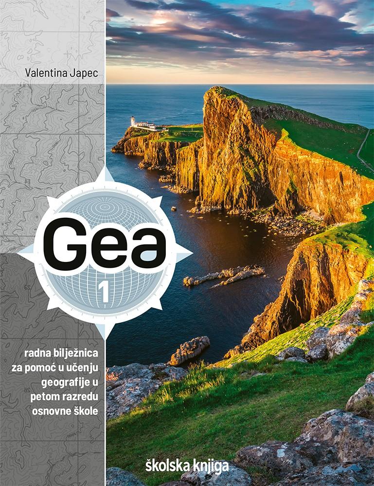 GEA 1 - radna bilježnica za pomoć u učenju geografije u petom razredu osnovne škole