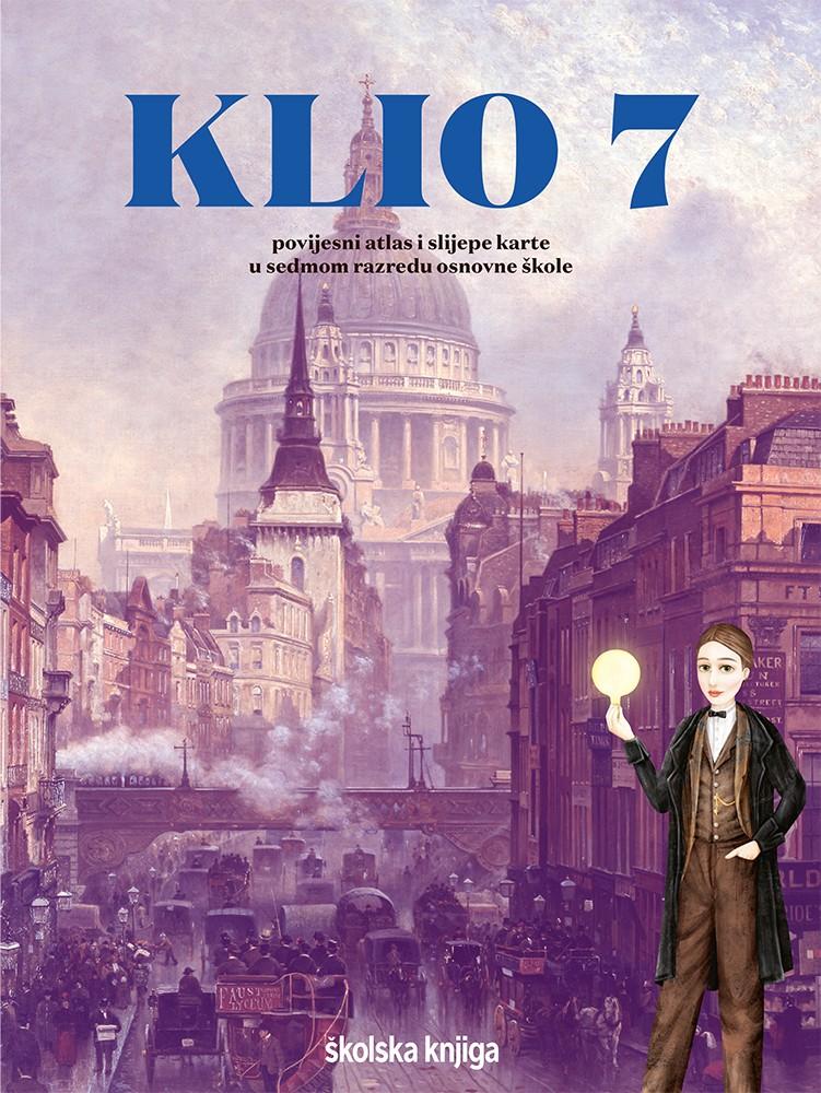 KLIO 7 - povijesni atlas i slijepe karte za sedmi razred osnovne škole