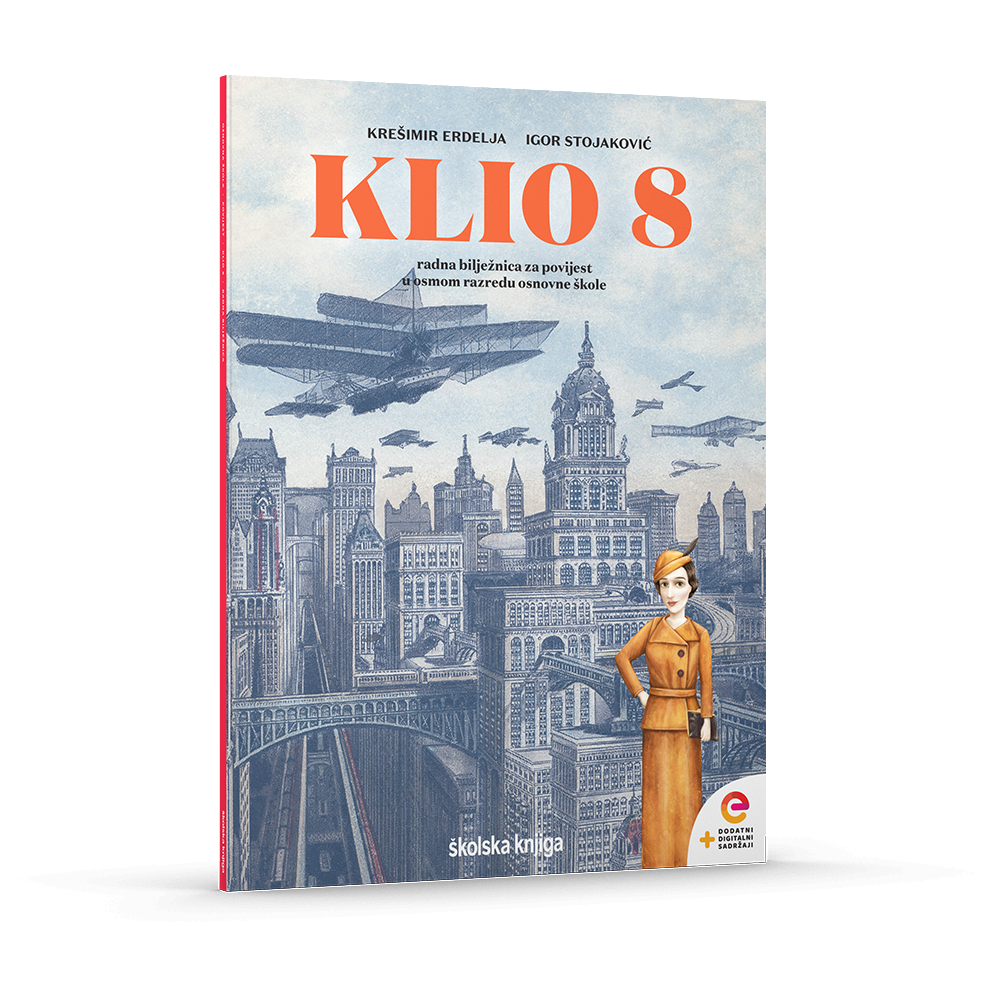 KLIO 8 - radna bilježnica za povijest u osmom razredu osnovne škole