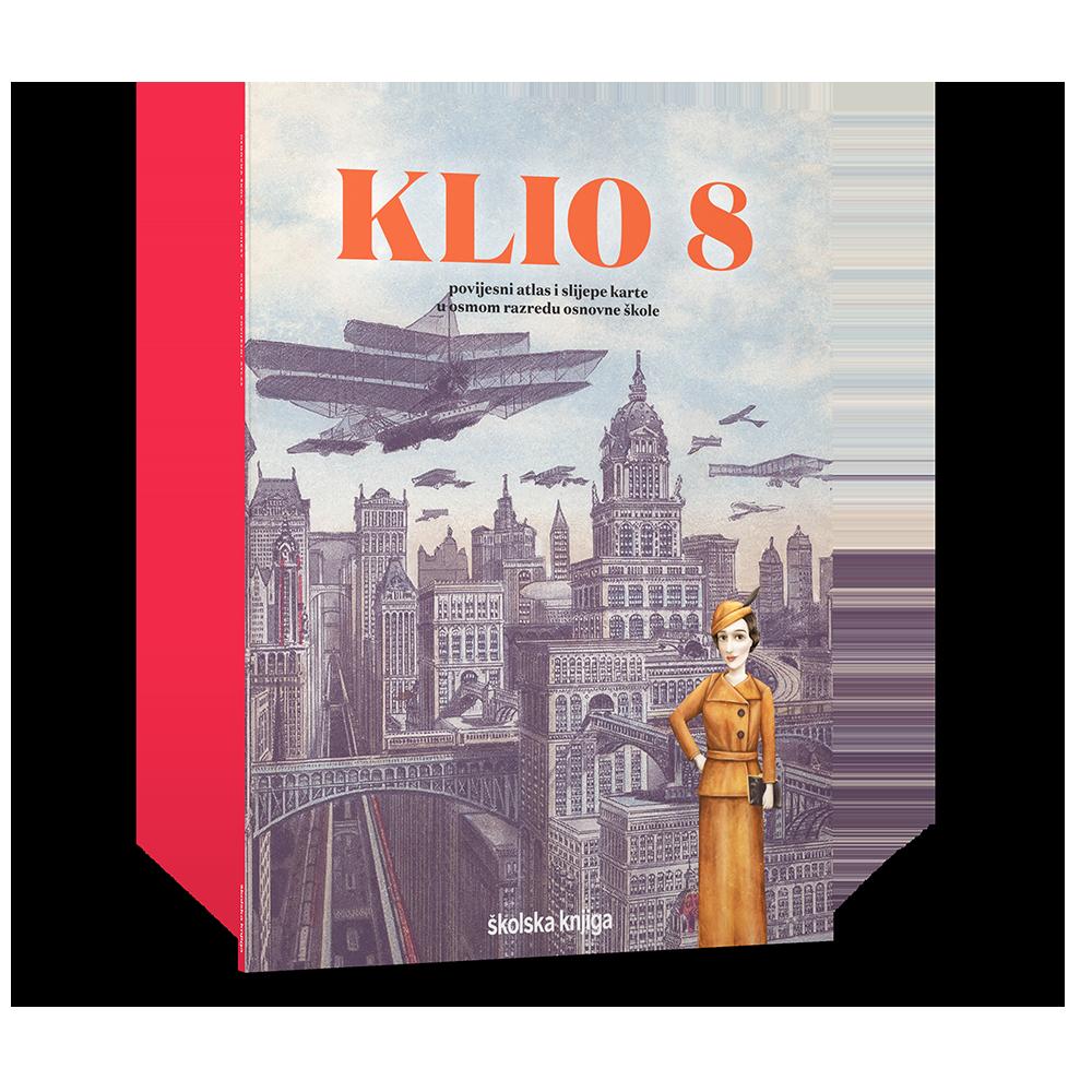 KLIO 8 - povijesni atlas i slijepe karte za osmi razred osnovne škole