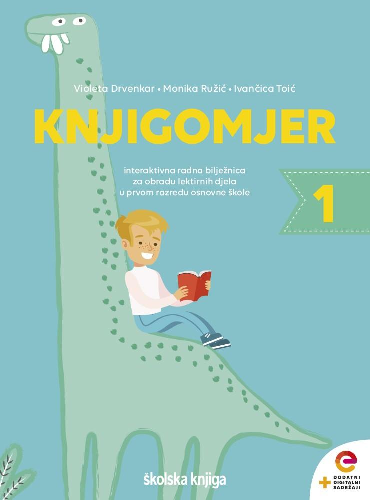 KNJIGOMJER 1 - interaktivna radna bilježnica za obradu lektirnih djela u prvom razredu osnovne škole