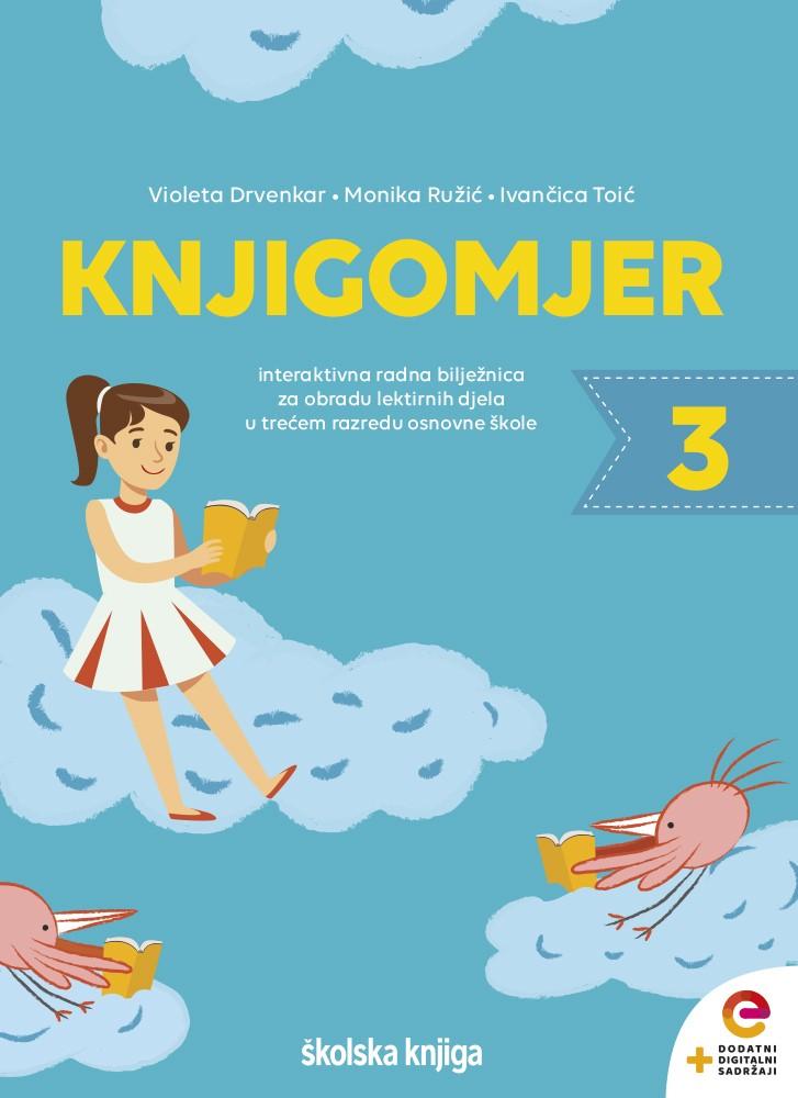 KNJIGOMJER 3 - interaktivna radna bilježnica za obradu lektirnih djela u trećem razredu osnovne škole