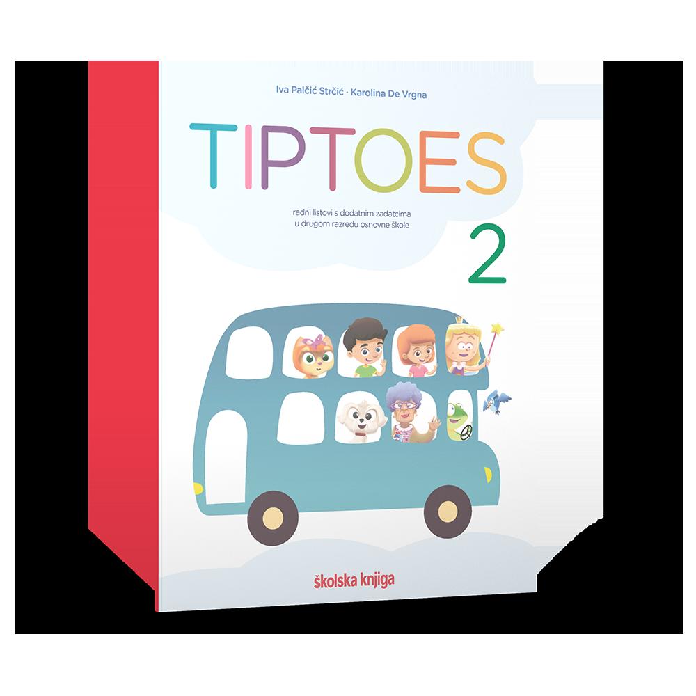 TIPTOES 2 - radni listovi s dodatnim zadatcima za drugi razred osnovne škole