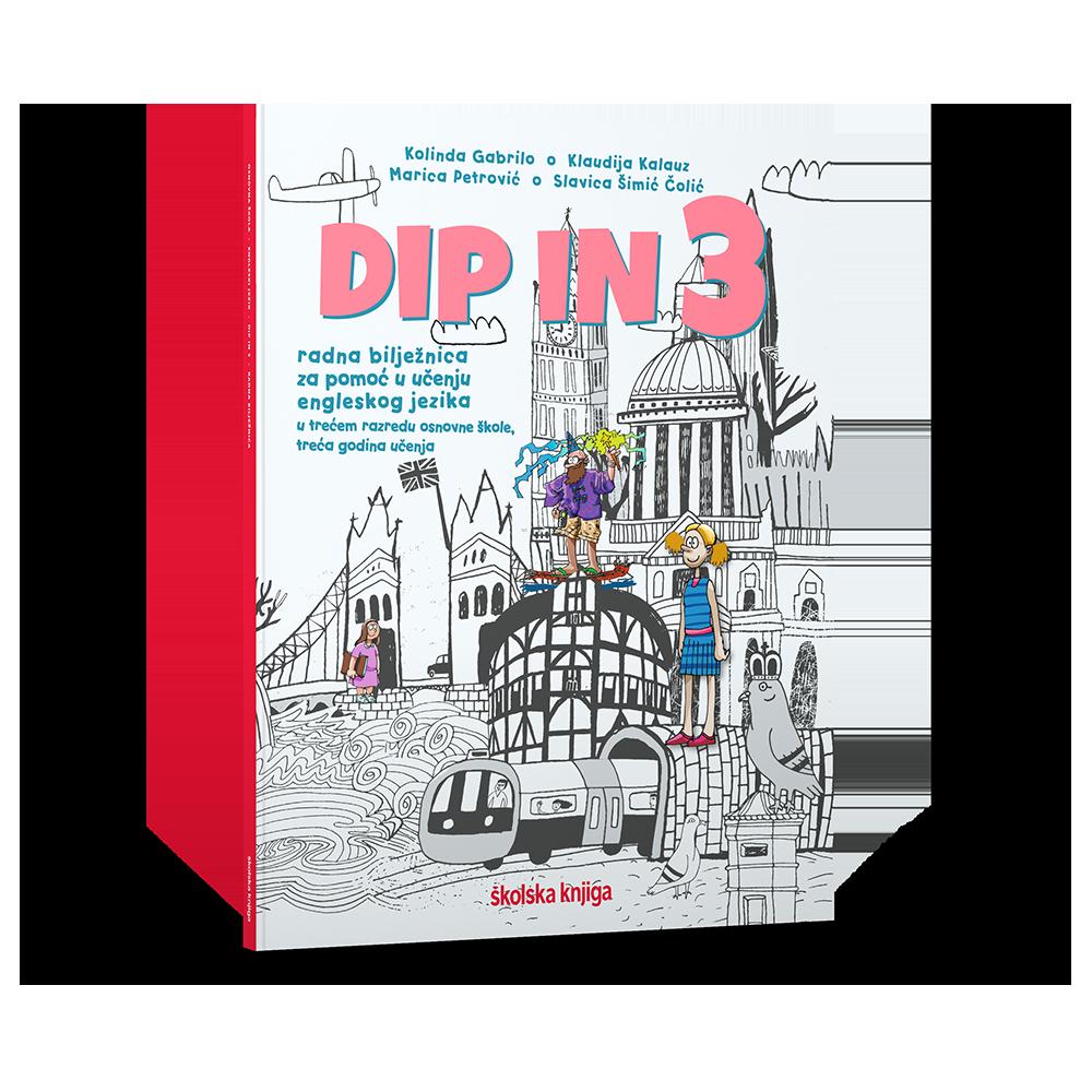 DIP IN 3 - radna bilježnica engleskog jezika za pomoć u učenju u trećem razredu osnovne škole