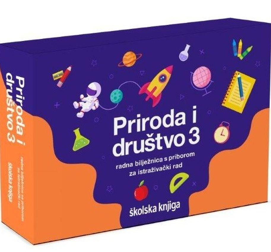 EUREKA 3 - radna bilježnica s priborom za istraživanje u trećem razredu osnovne škole