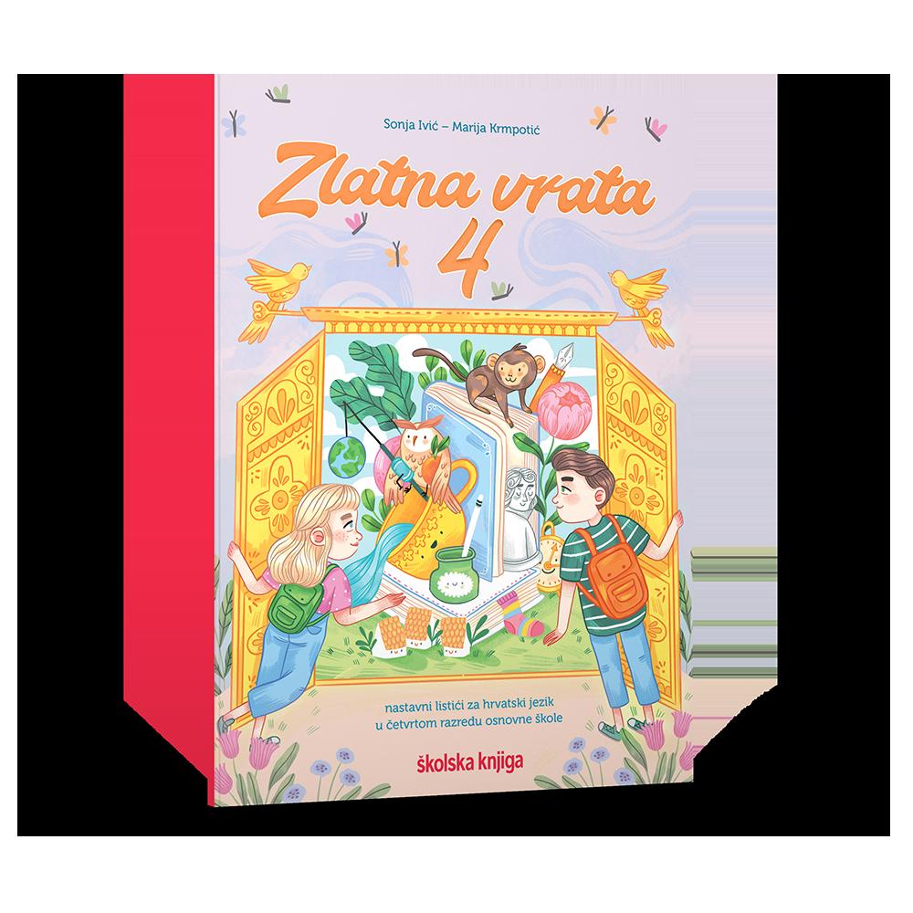 ZLATNA VRATA 4 - nastavni listići za hrvatski jezik u četvrtom razredu osnovne škole
