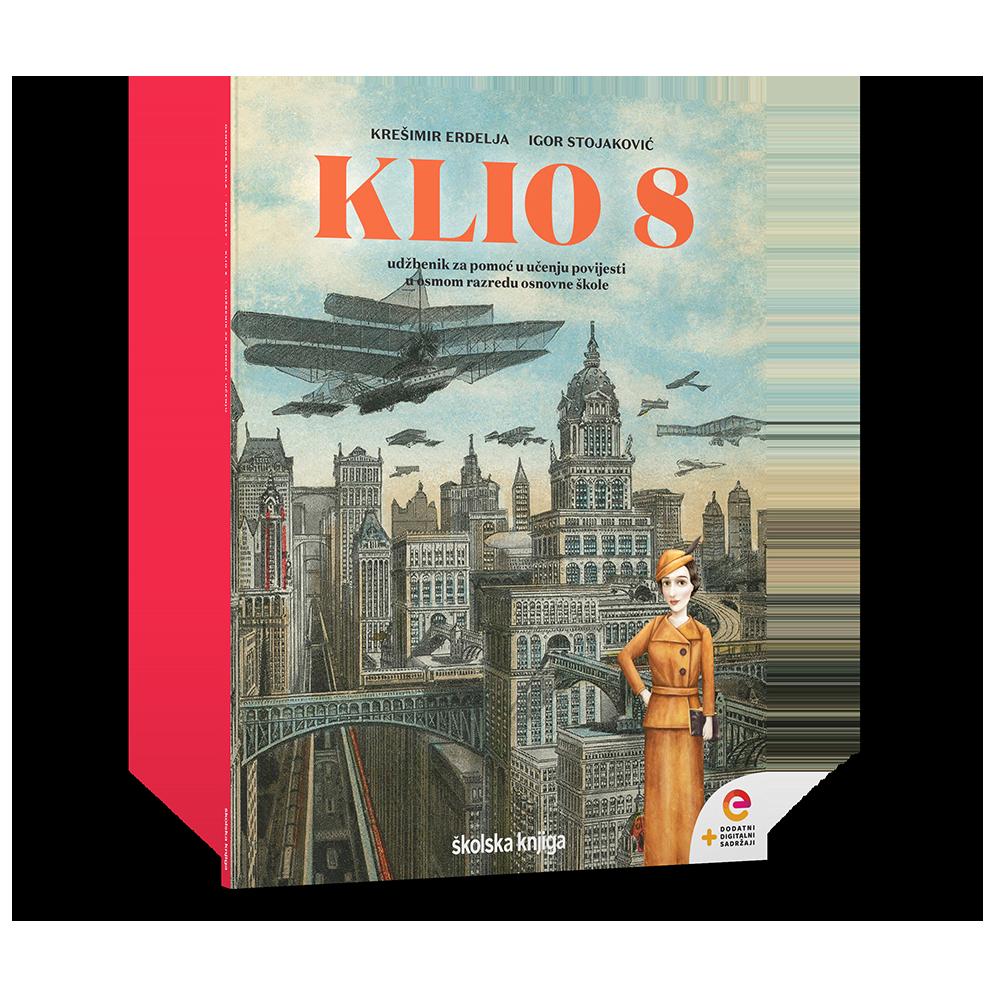 KLIO 8 - udžbenik za pomoć u učenju povijesti u osmom razredu osnovne škole