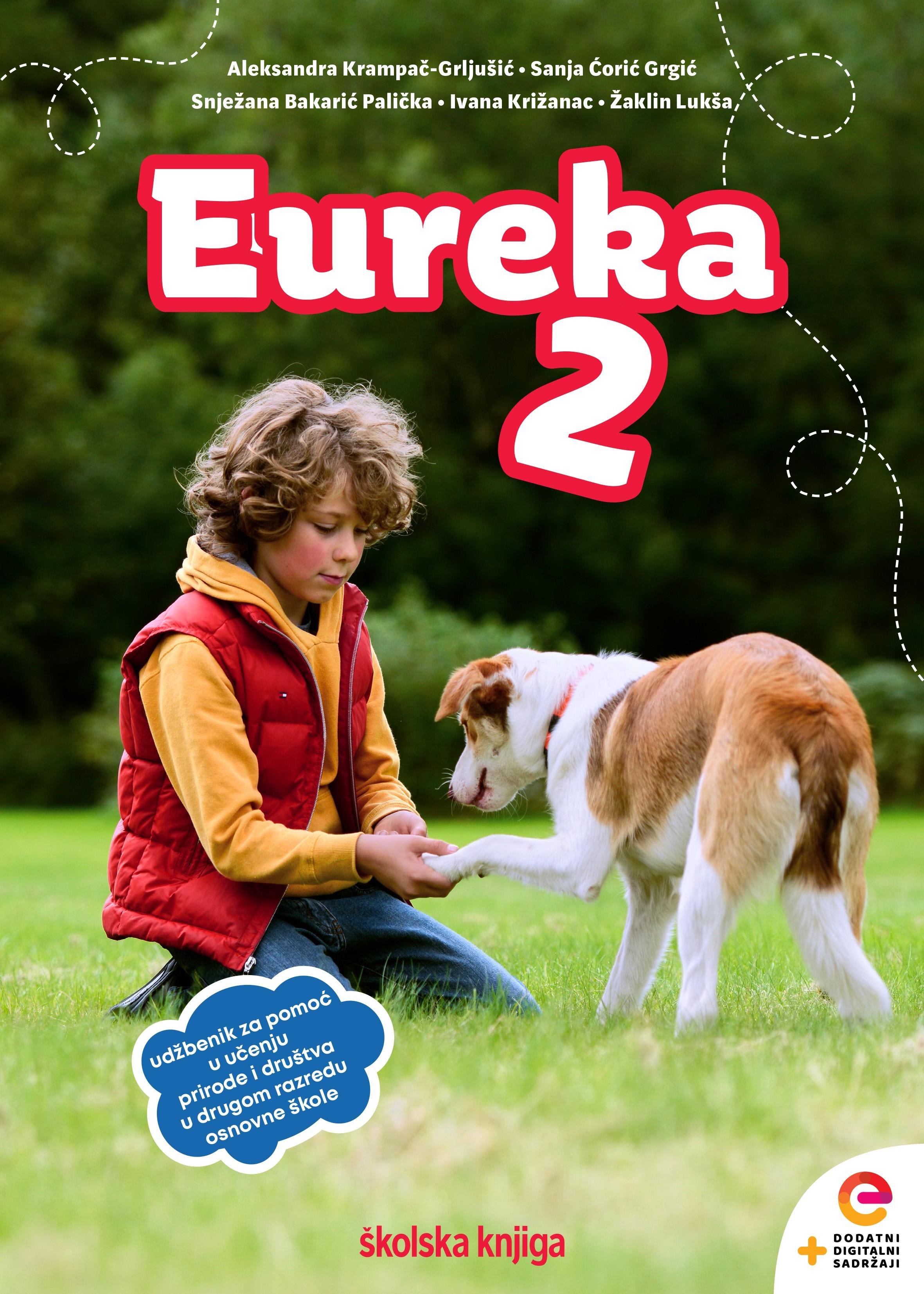 EUREKA 2 - radni udžbenik za pomoć u učenju prirode i društva u drugom razredu osnovne škole
