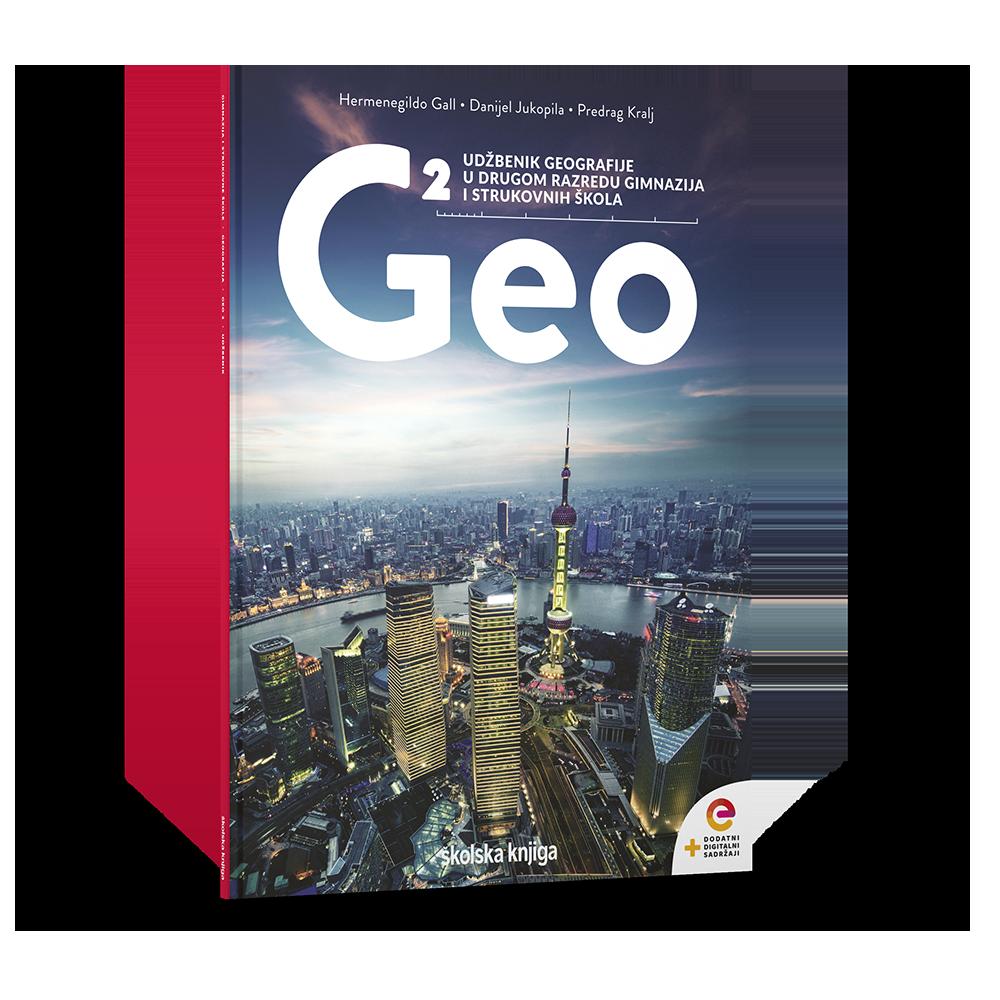 GEO 2 - udžbenik geografije s dodatnim digitalnim sadržajima u drugom razredu gimnazija i četverogodišnjih strukovnih škola