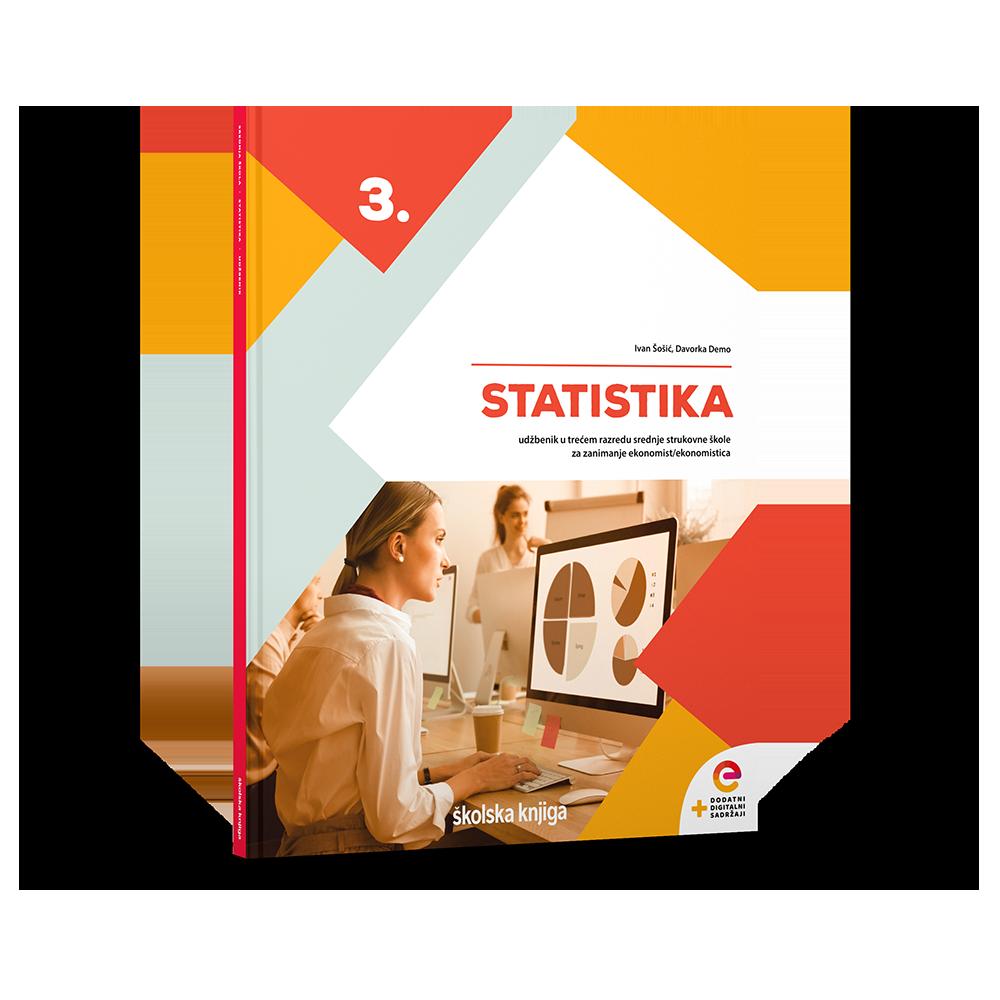 STATISTIKA - udžbenik s dodatnim digitalnim sadržajima u trećem razredu srednje strukovne škole za zanimanje ekonomist/ekonomistica