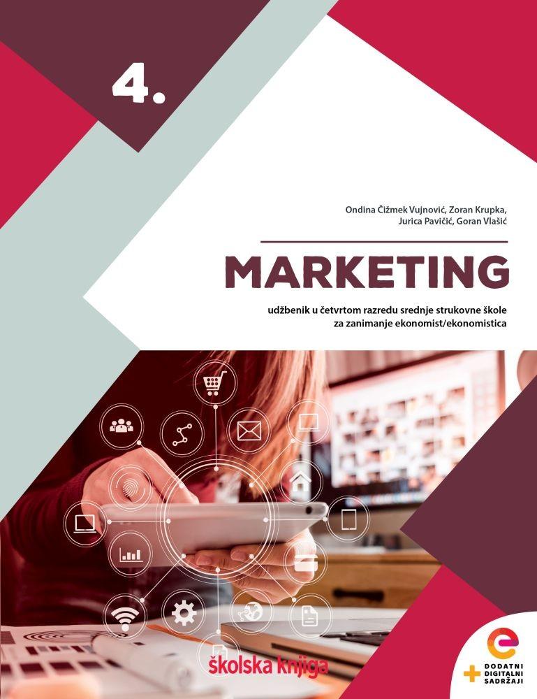 MARKETING 4 - udžbenik u četvrtom razredu srednje strukovne škole za zanimanje ekonomist/ekonomistica