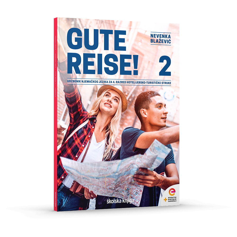 GUTE REISE! 2 - udžbenik za 4. razred hotelijersko-turističke struke