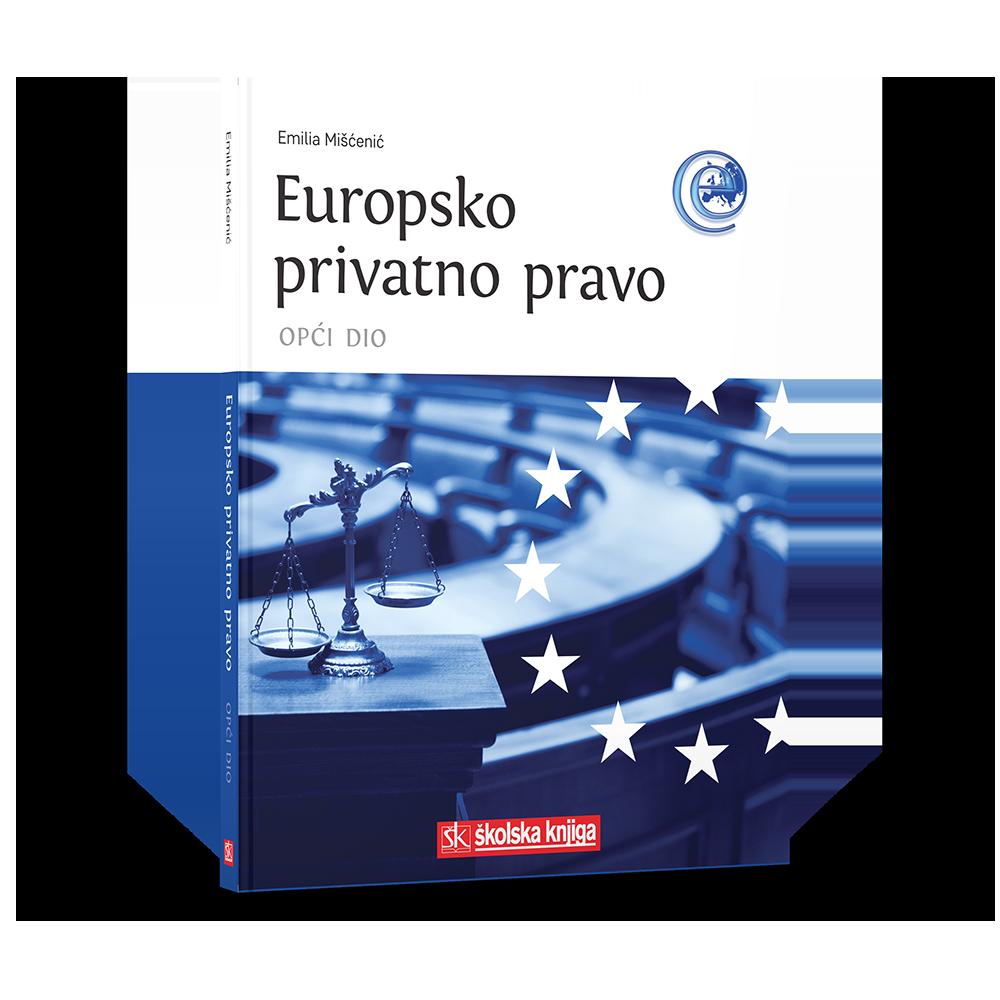 Europsko privatno pravo - opći dio