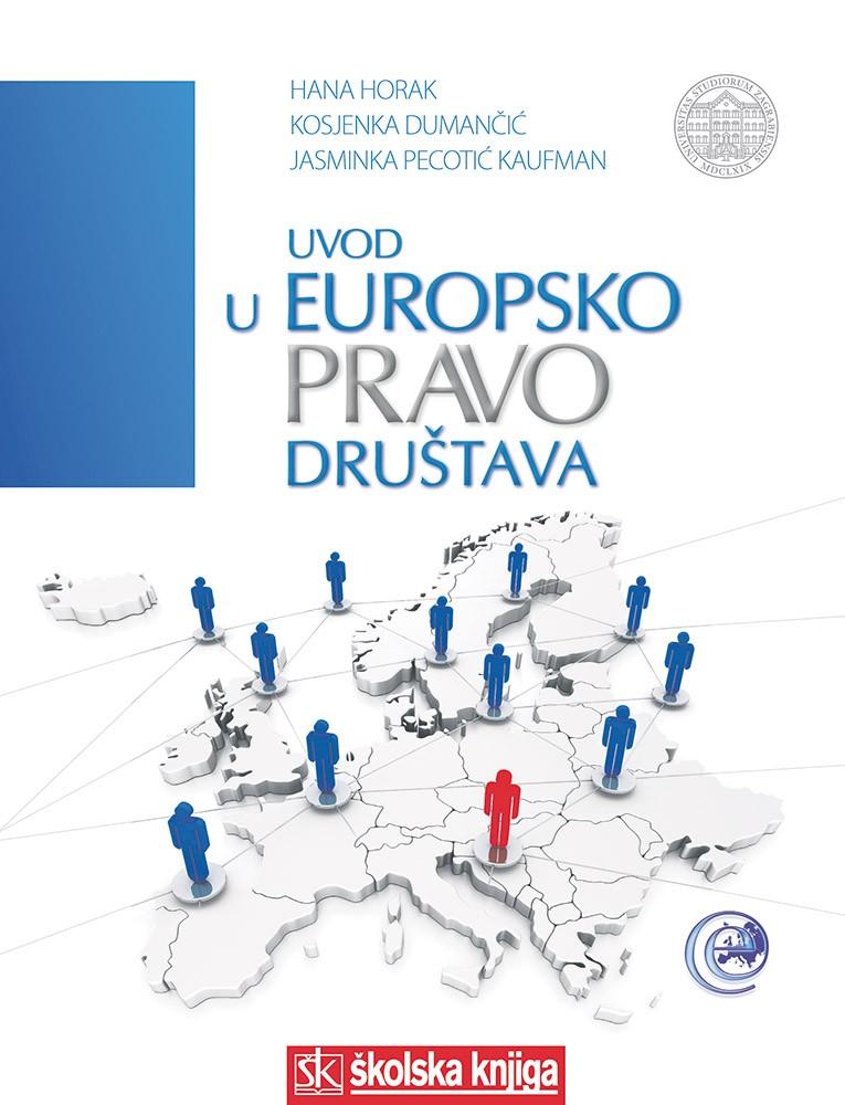 Uvod u europsko pravo društava, tvrdi uvez