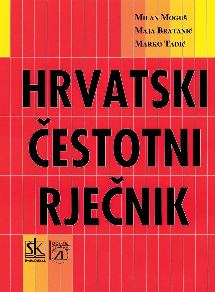 Hrvatski čestotni rječnik