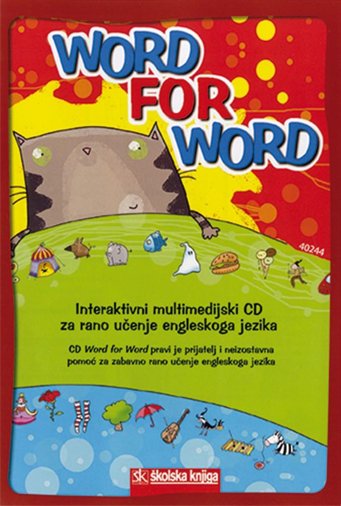 Word for Word - Interaktivni rječnik za rano učenje engleskog jezika s multimedijskim CD-om