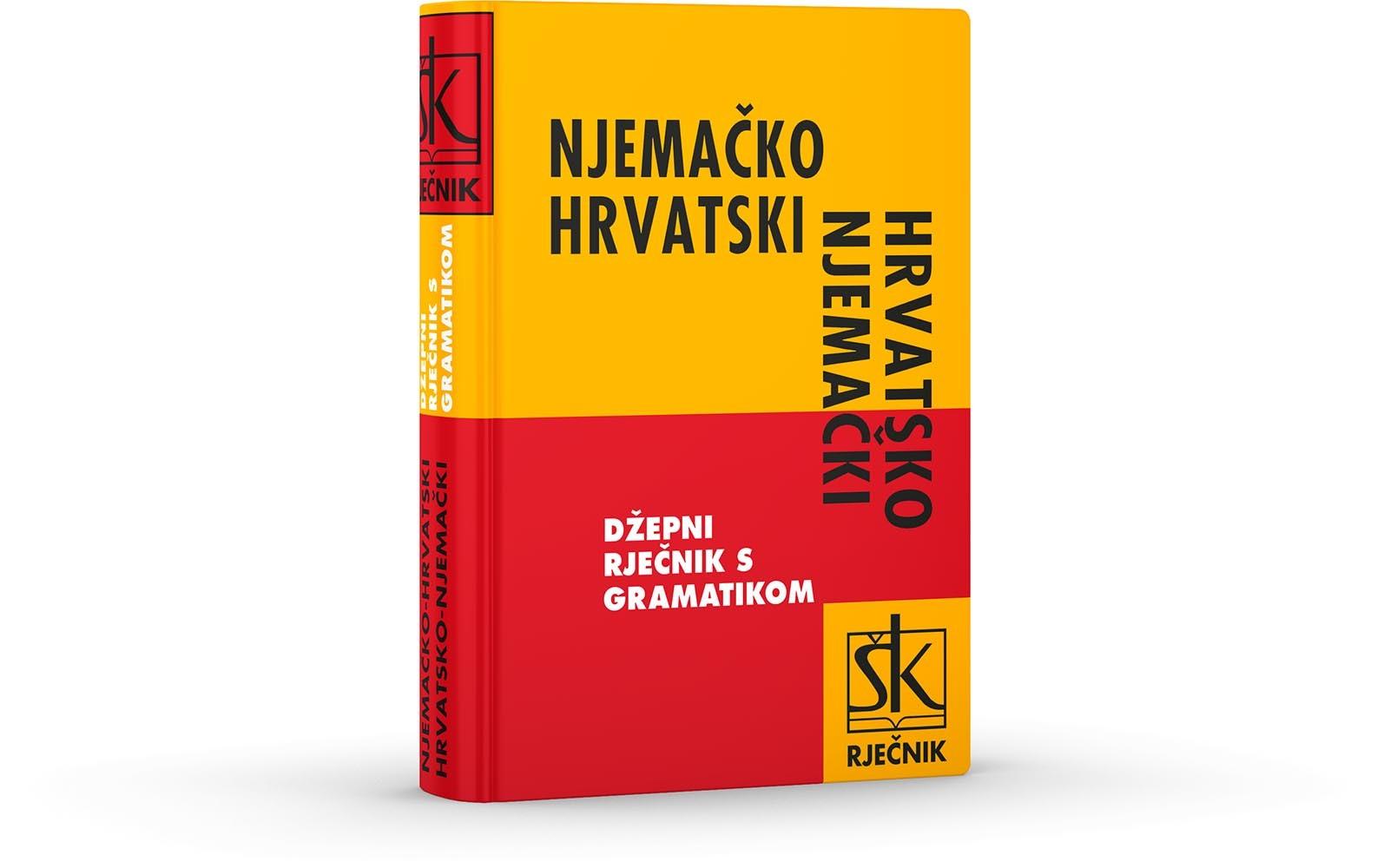 Njemačko-hrvatski i hrvatsko njemački džepni rječnik s gramatikom