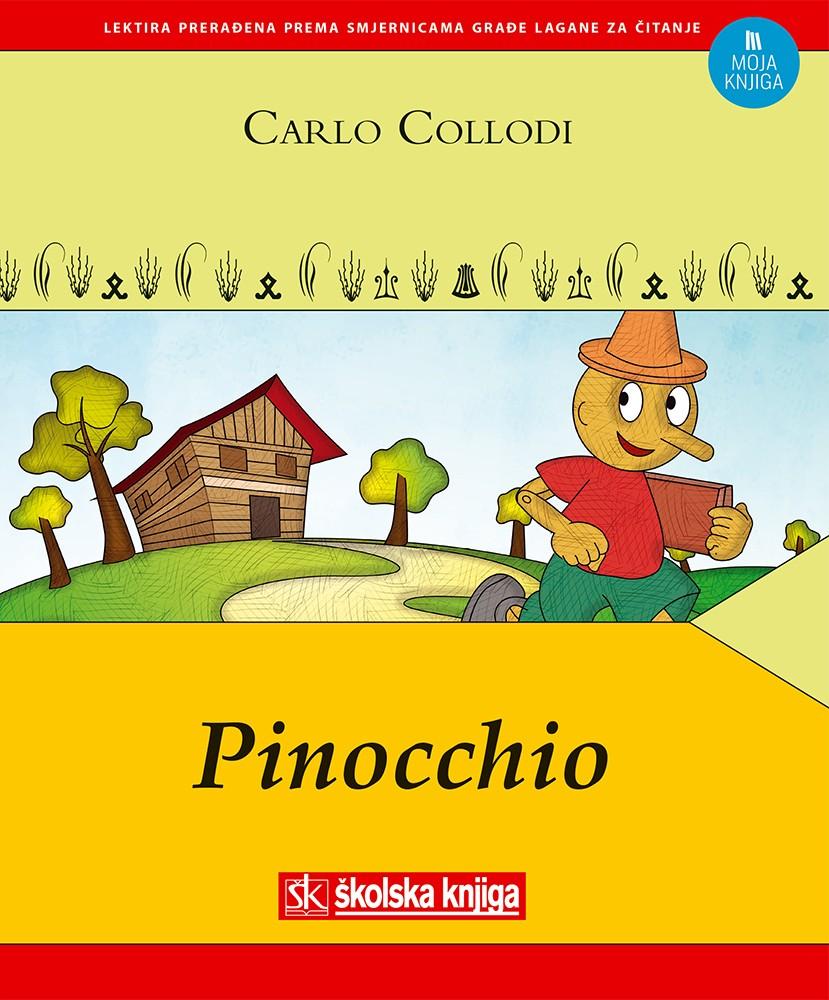 Pinocchio – lektira prerađena prema smjernicama građe lagane za čitanje