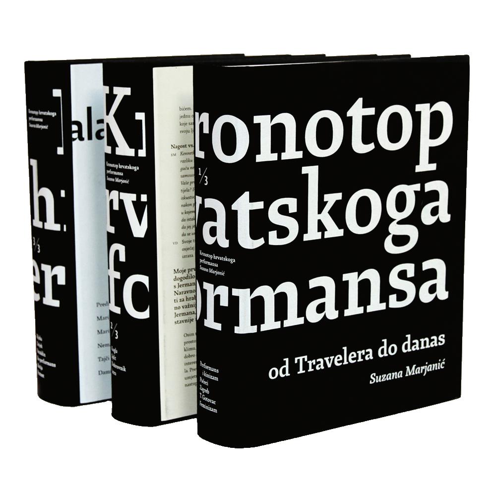 Kronotop hrvatskoga performansa - Od Travelera do danas