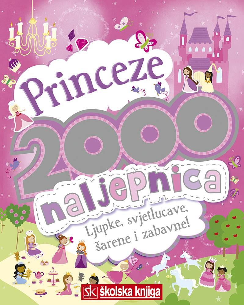 Princeze - 2000 naljepnica