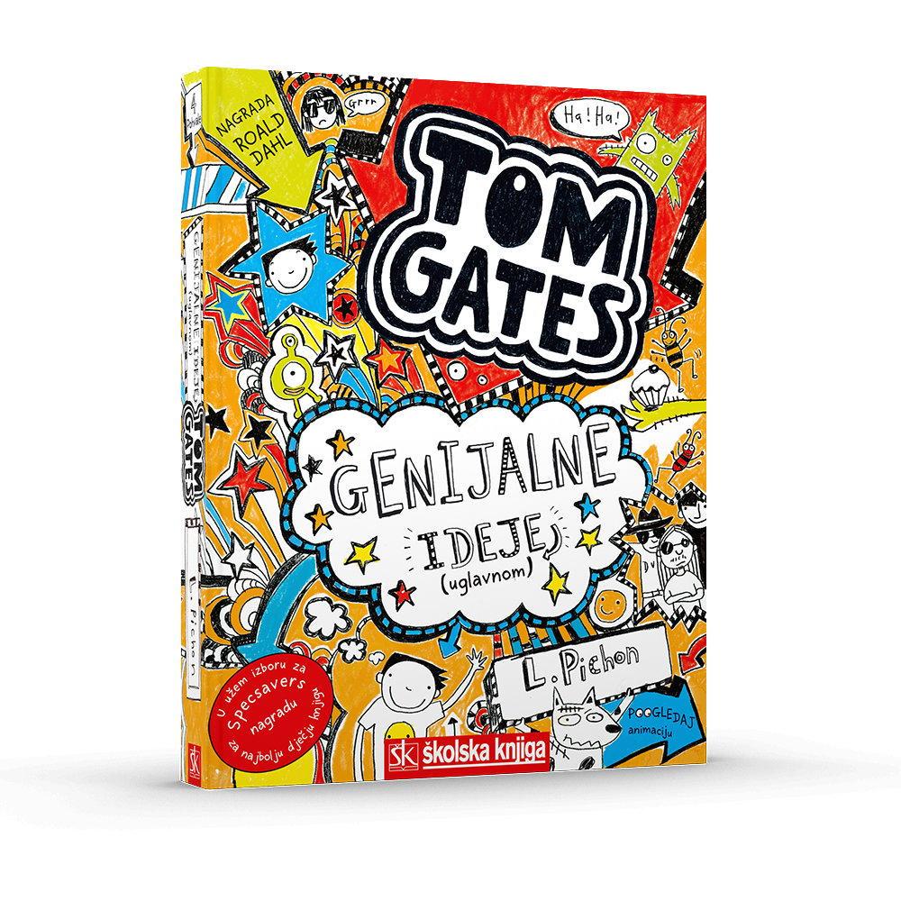 Tom Gates - Genijalne ideje (uglavnom), 4. knjiga