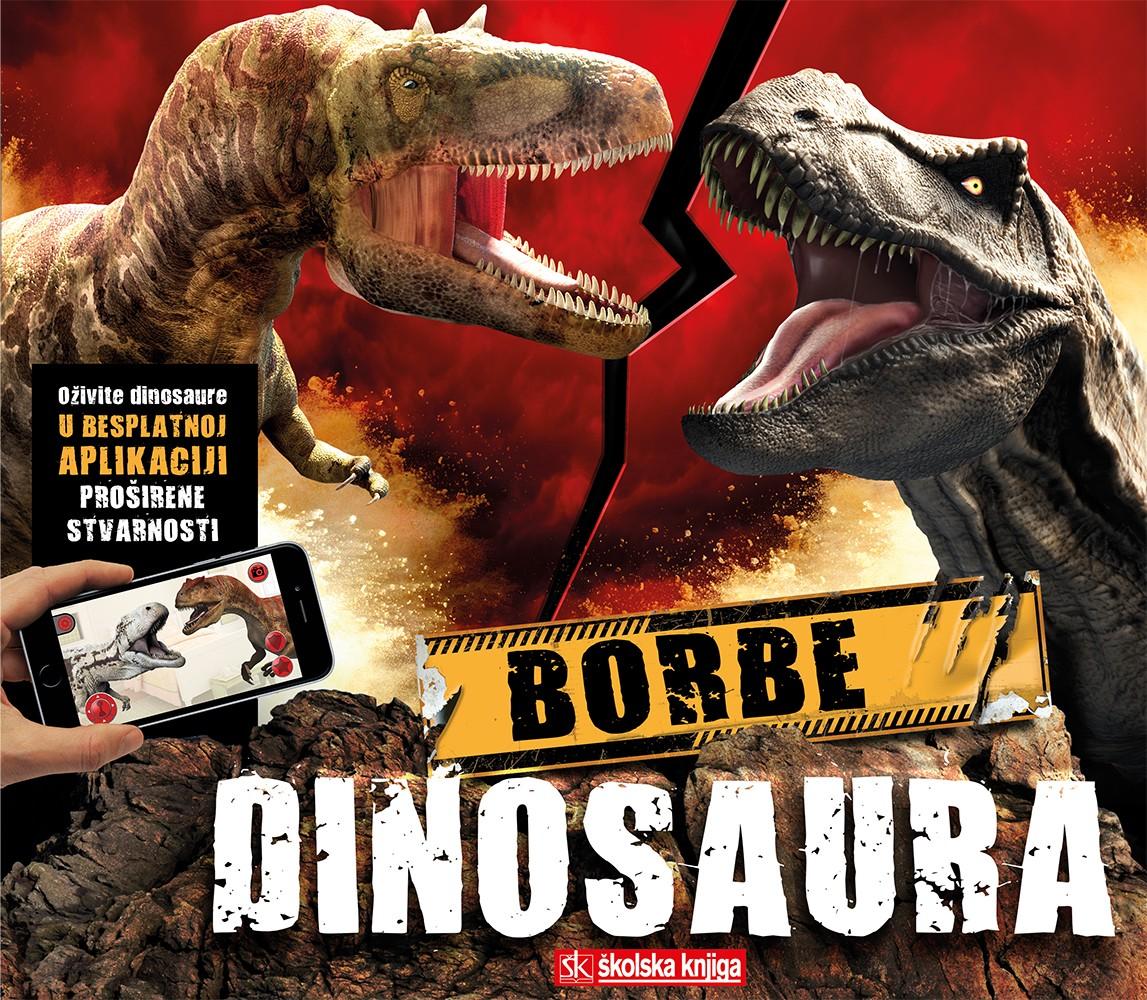 Borbe dinosaura – knjiga s aplikacijom za proširenu stvarnost - U PRETPRODAJI OD 7. 10. DO 28. 10. 2019. UZ 15% POPUSTA!