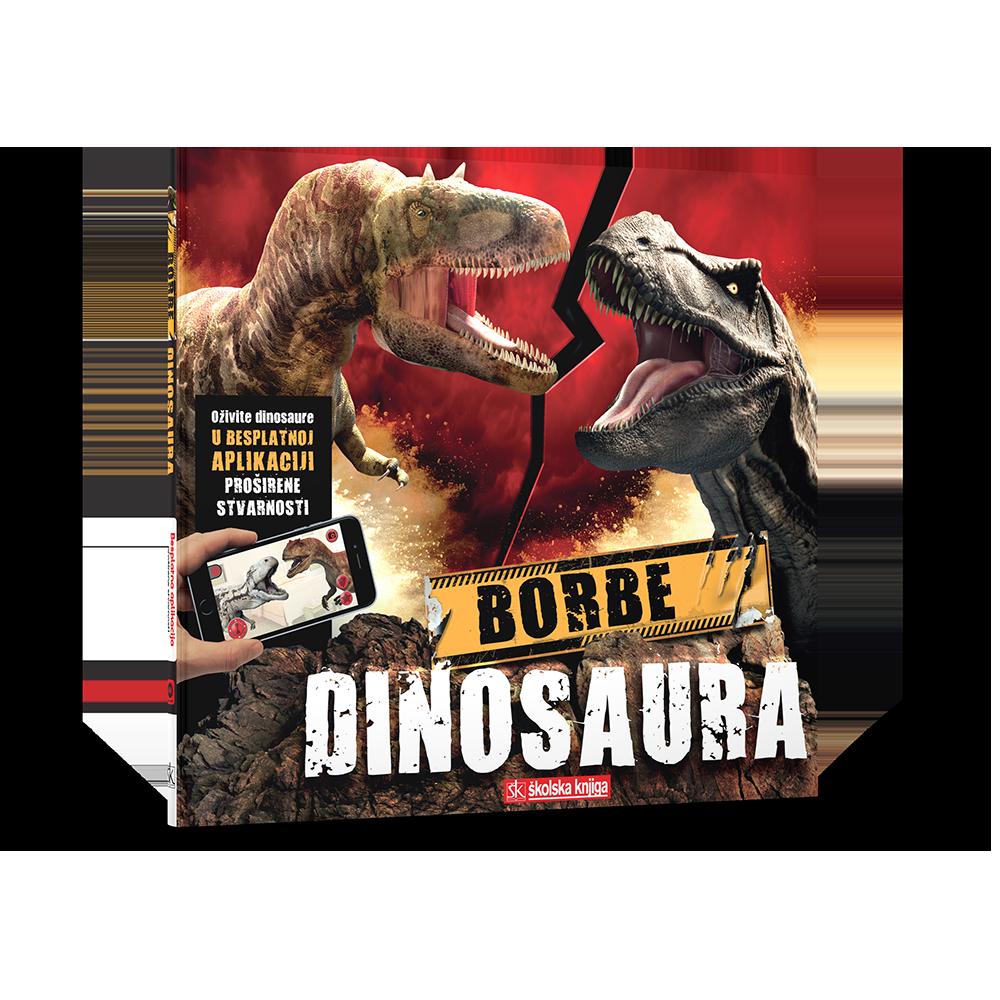 Borbe dinosaura – knjiga s aplikacijom za proširenu stvarnost