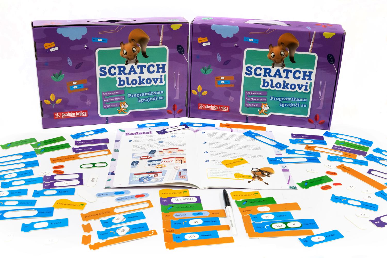 SCRATCH BLOKOVI - programiramo igrajući se (didaktička kutija)