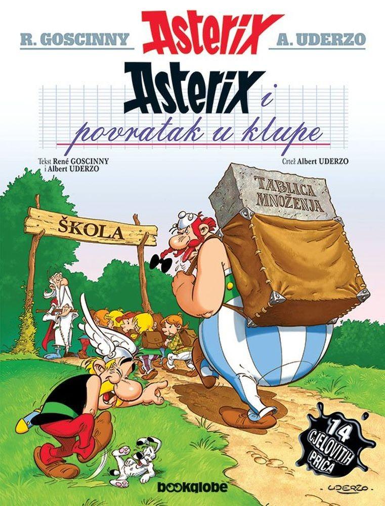 Asterix i povratak u klupe - 32. pustolovina, tvrdi uvez