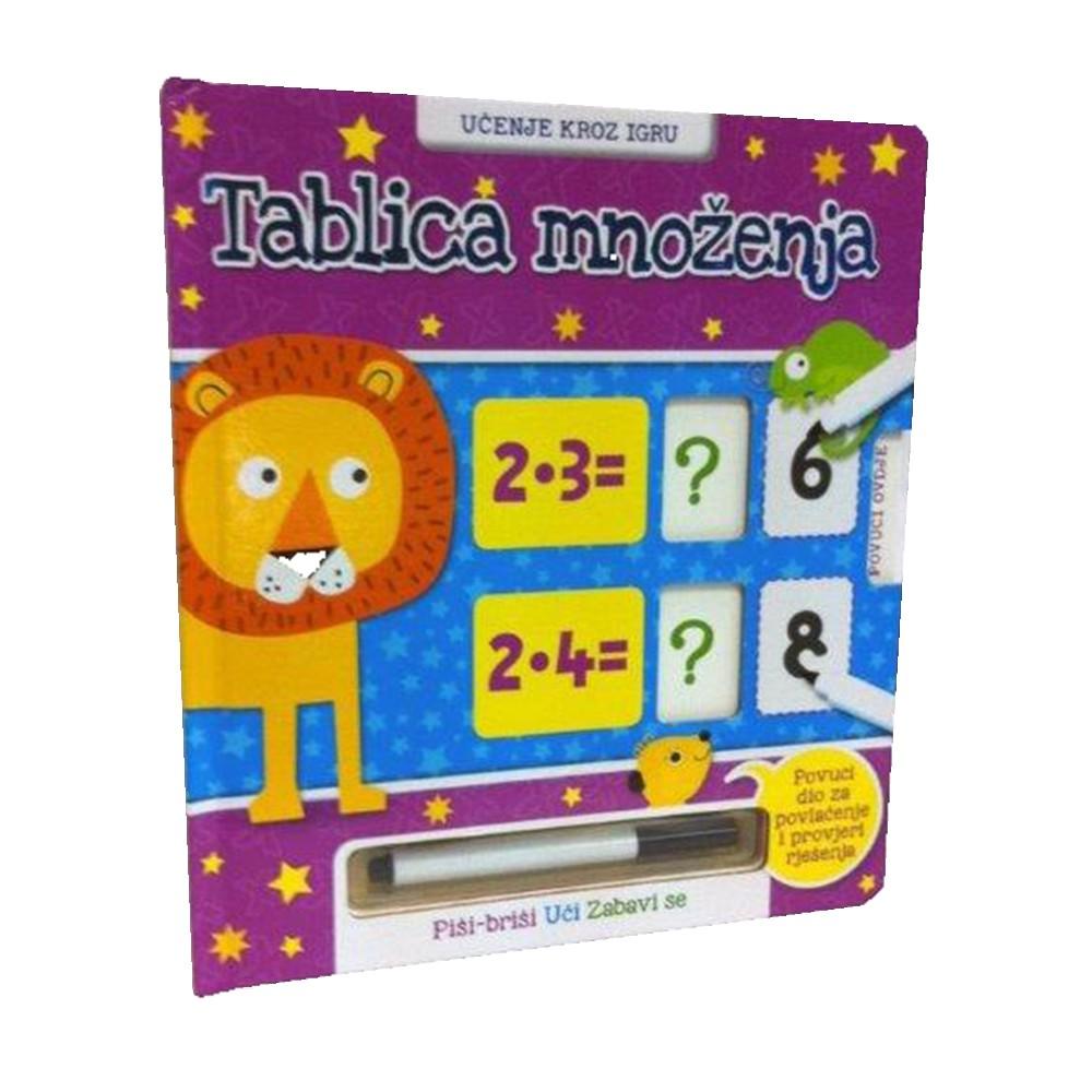Tablica množenja - Učenje kroz igru, Piši-briši