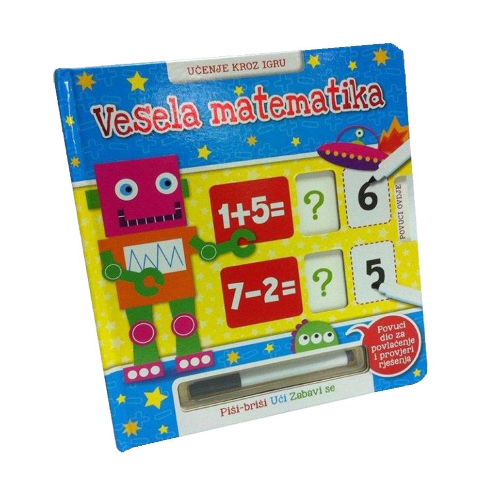 Vesela matematika - Učenje kroz igru, Piši-briši