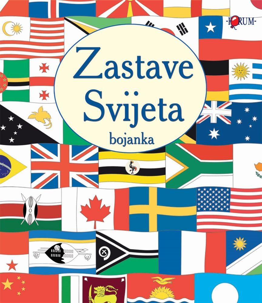 Zastave svijeta - bojanka
