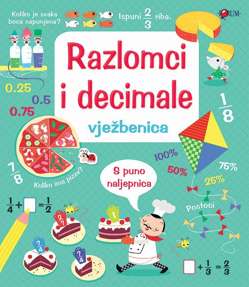Razlomci i decimale - vježbenica