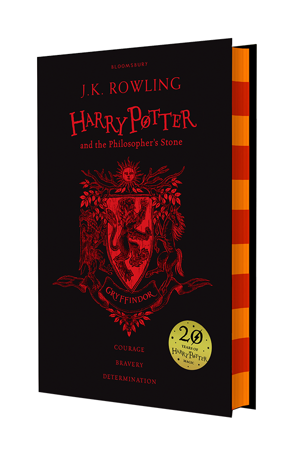 Harry Potter and the Philosopher's Stone Gryffindor Edition, Hardback