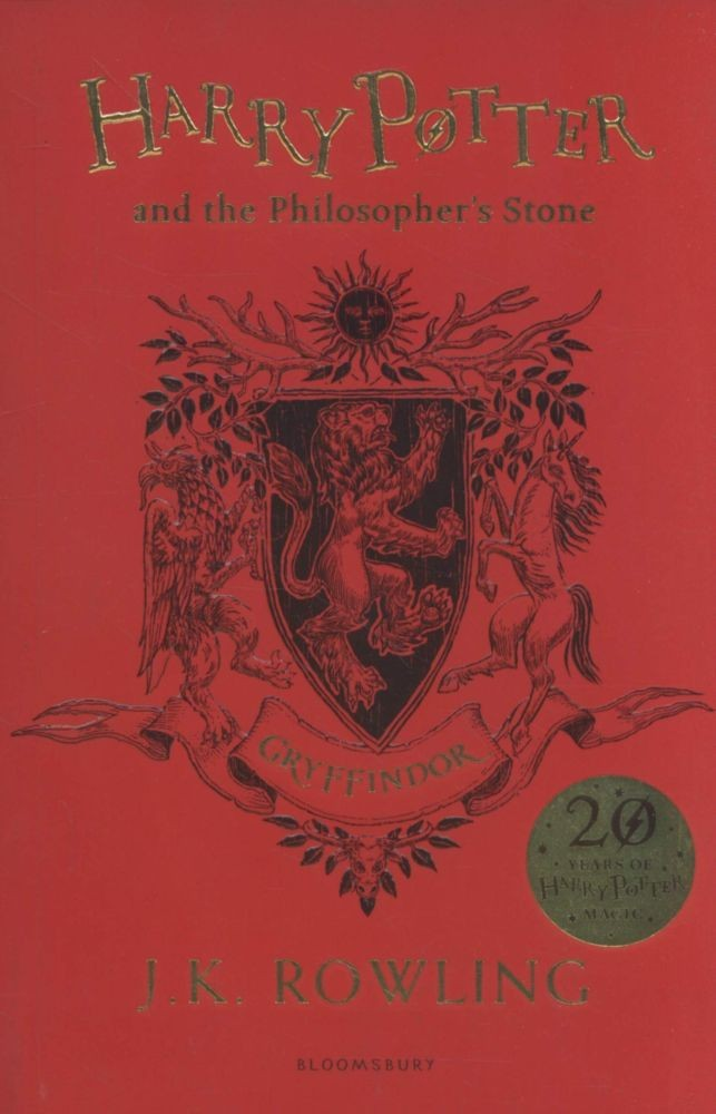 Harry Potter and the Philosopher's Stone Gryffindor Edition - Paperback