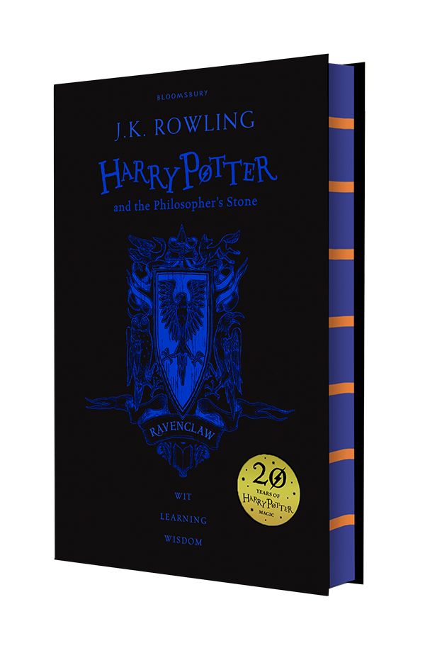 Harry Potter and the Philosopher's Stone Ravenclaw Edition - Hardback