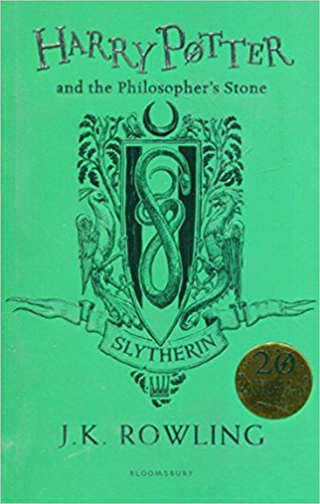 Harry Potter and the Philosopher's Stone Slytherin Edition - Paperback
