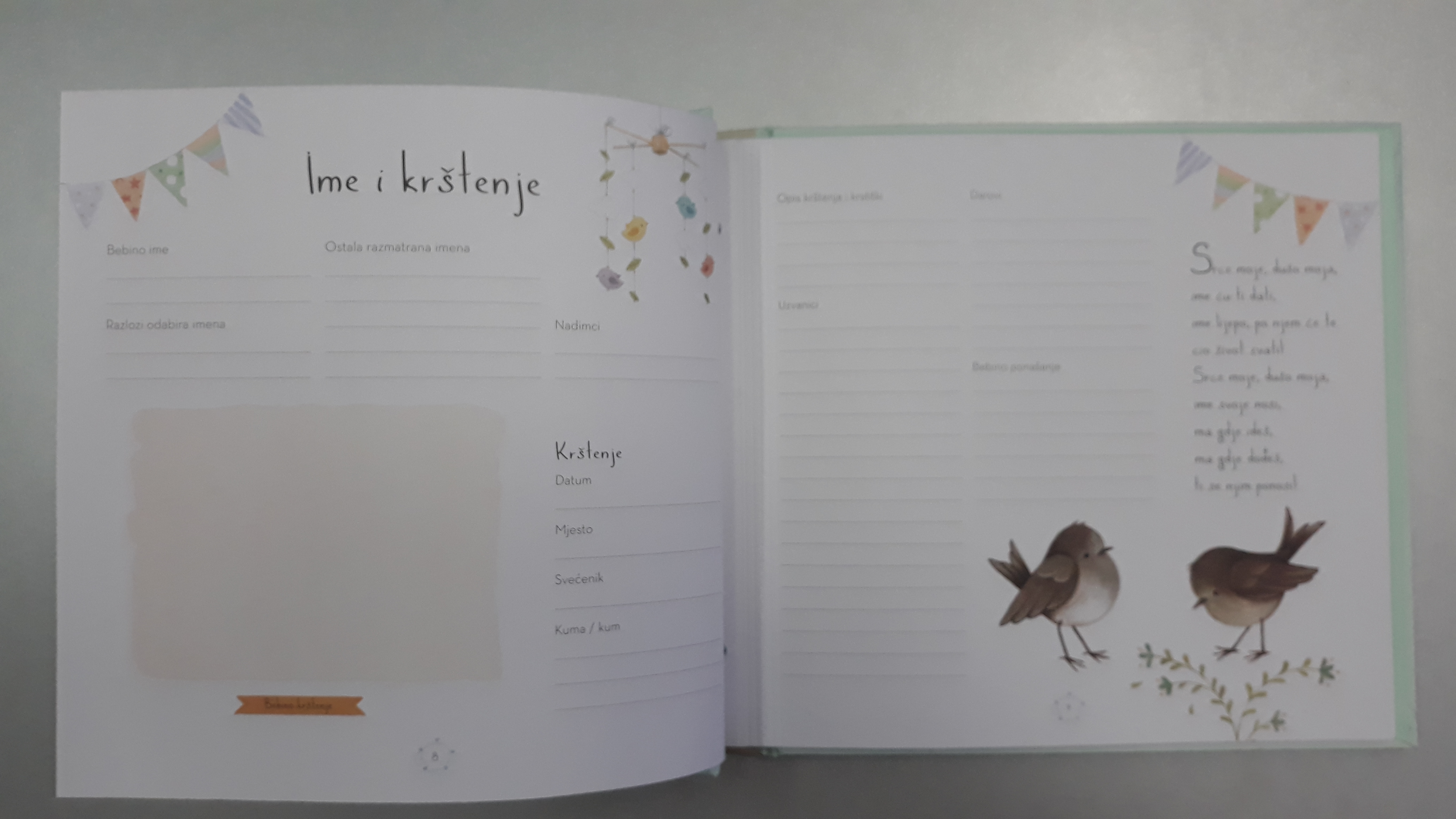 Naša beba - knjiga uspomena