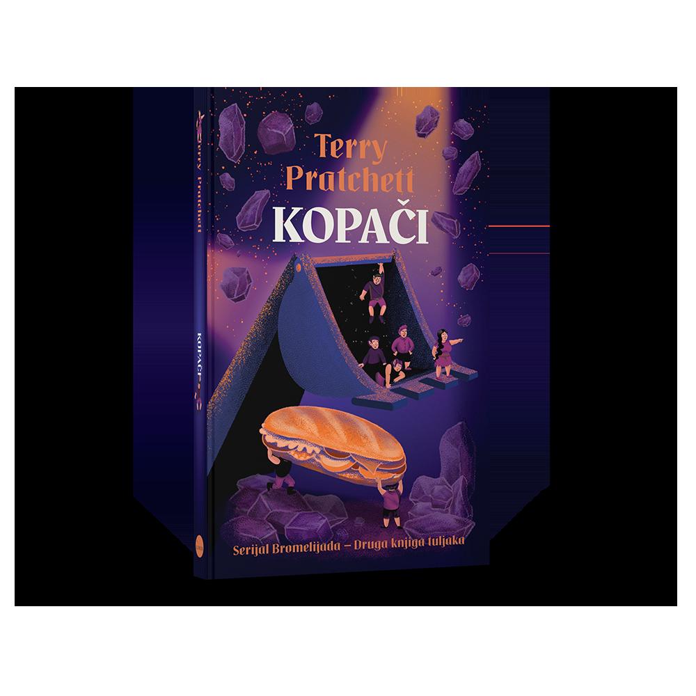 KOPAČI- druga knjiga tuljaka - serijal Bromelijada