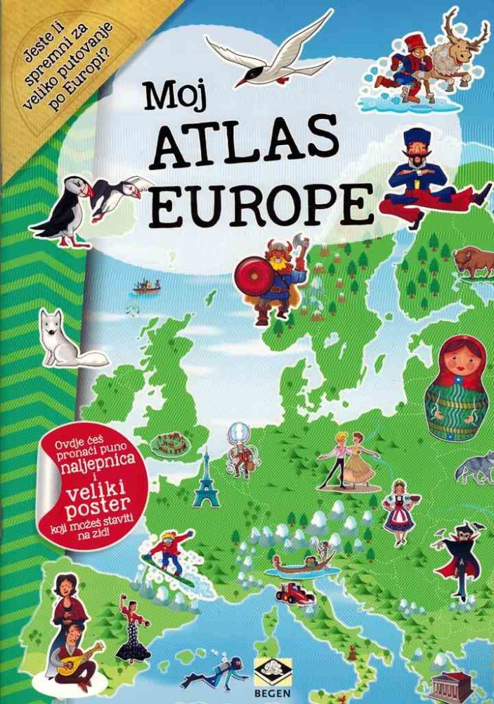 Moj atlas Europe