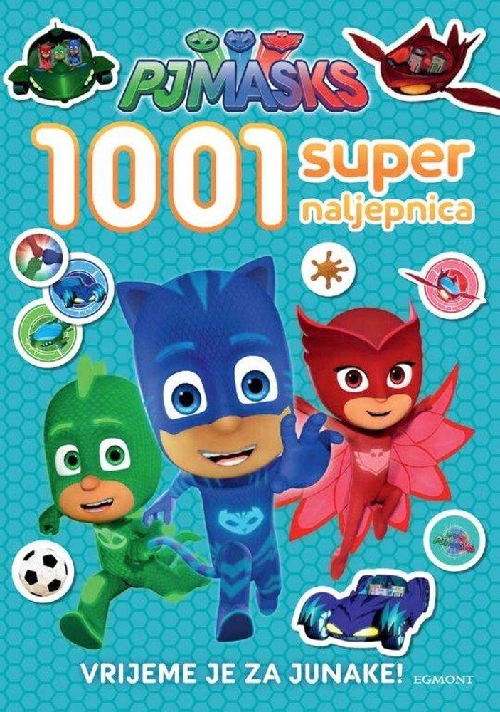 PJ Masks - 1001 super naljepnica